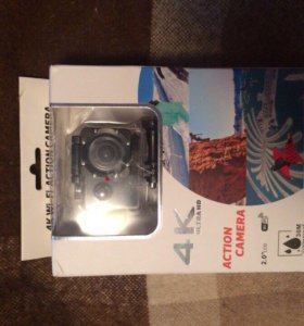 Экшн камера новая, action cam 4k