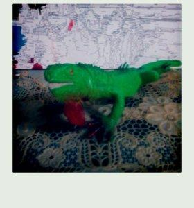 Резиновая ящерица (игрушка)