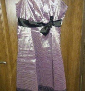 Платье на брительках