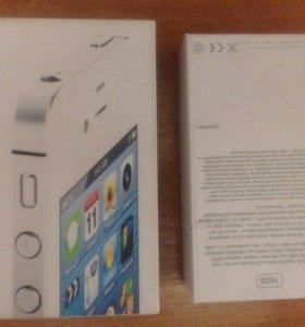 коробка от айфон iPhone 4s
