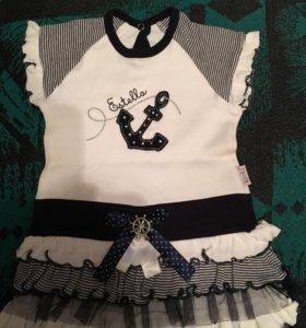 Платье на девочку 1 годик