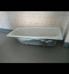 Чугунная ванная бу