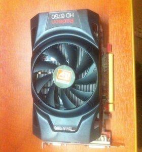 Видеокарта ATI Radeon HD 6750