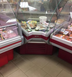 Холодильная витрина угол
