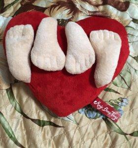 Плюшевое сердце