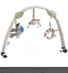 Шезлонг-качалка механическая  Nuna