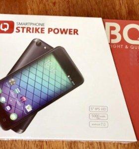BQ Mobile BQ-5059 Strike Power Black Brushe
