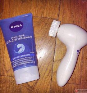 Электрическая щёточка для умывания Nivea