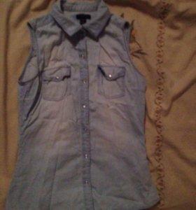 Безрукавная рубашка