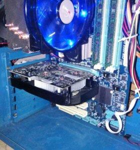 Материнская плата + процессор + DDR3 8gb