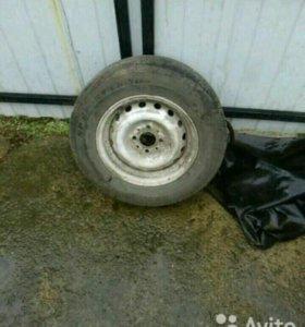Колеса с летней резиной Dunlop