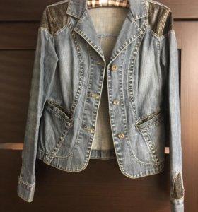 Пиджак джинсовый р.S. 42-44