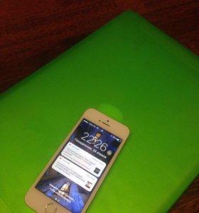 IPhone 5s 32gb белый алюминий