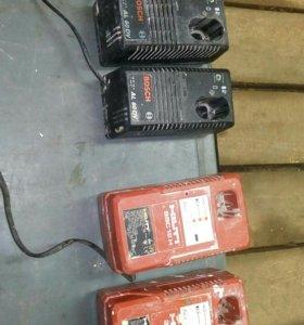 Зарядные устройства для шуруповерта