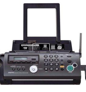 Факс Panasonic KX-FC278 + беспроводная трубка
