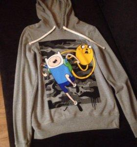Кофта с длинным рукавом. Adventure Time