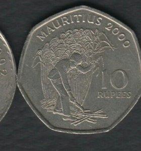 3 монеты Маврикия
