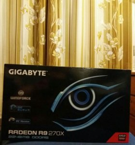Видюха Gigabyte AMD Radeon R9 270X 2G На гарантии