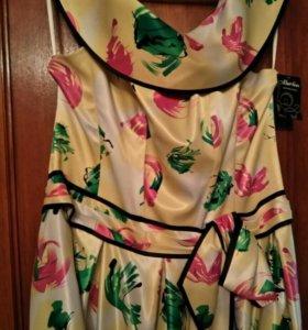 Новое карсетное вечернее платье