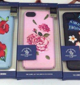 Чехол с цветами для iPhone 7