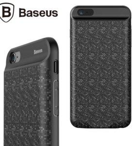 Чехол аккумулятор baseus iphone 7/7plus 3800mah