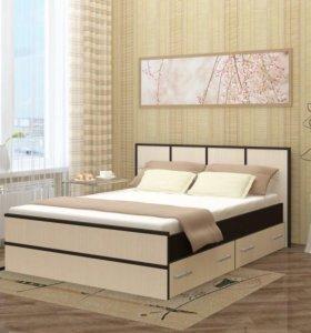 Новая кровать Сакура с матрасом