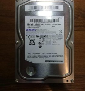 """Жесткий диск 250Gb SATA 3.5"""""""