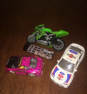 Машинки гоночные мотоцикл игрушки