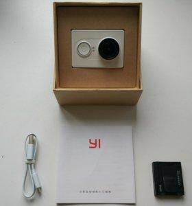 Экшн камера Xiaomi Yi с экраном