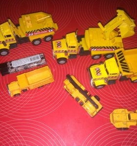 Машинки строительные грузовики игрушечные