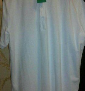 Новая рубашка-поло, XL, рост 185