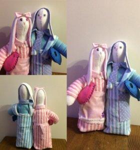 Игрушки и куклы ручной работы на заказ