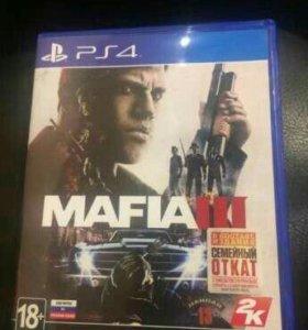 Диск Playstation 4 Mafia 3 ps4 игра