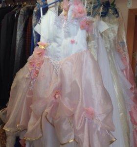 Детское нарядное платье на выпускной/ Аренда