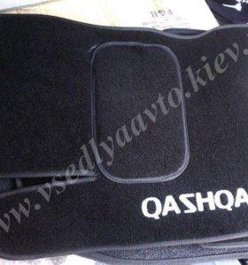 коврики Qashqai и Qashqai+2