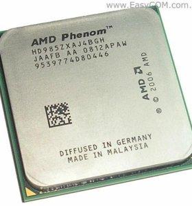 Процессор 4 ядра  AMD Phenom X4 9850 Black Edition