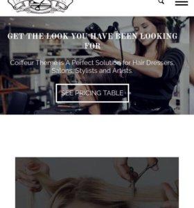 Продаю сайт для салона красоты