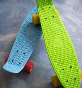 2 скейтборда по типу Penny Board