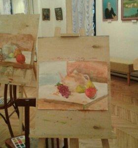 Курсы рисования в музее ИЗО от 10 до 12лет