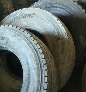 Б / у резина на грузовые автомобили 315 /80 / 22.5