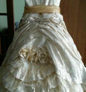Платье на возраст 6-7 лет