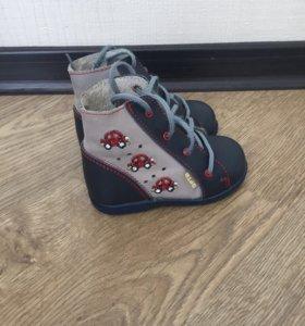Весенний ботинки