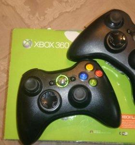 Xbox360+kinect+2джойстика+игры(обмен на iPhone)