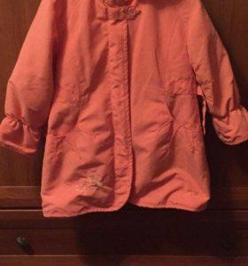 Пальто рост 116-122
