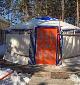 Юрта новая Бурятско-Монгольская, площадь 20кв м