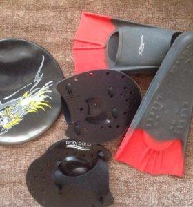 Ласты и лопатки для плавания