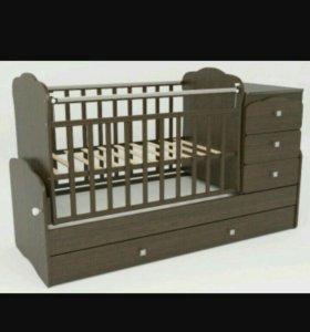 Кроватка 3в1