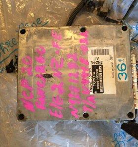 Блок управления ДВС 2 nz-fe с проводкой