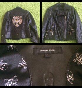 Кожаная куртка р46-48