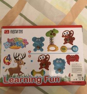 Новый набор игрушек